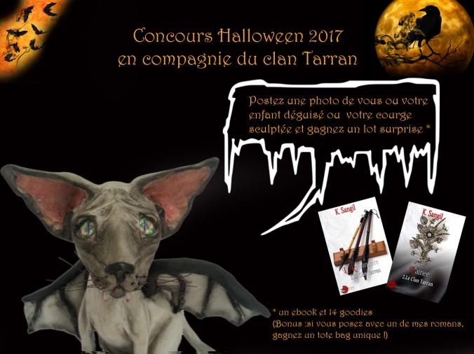 concours halloween 2017 clan Tarran
