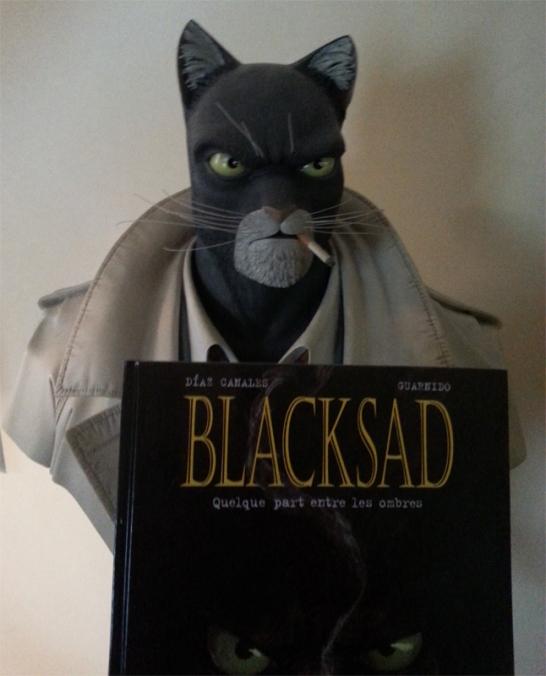 black sad